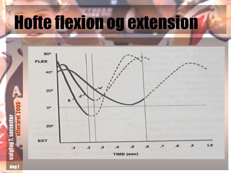 Hofte flexion og extension