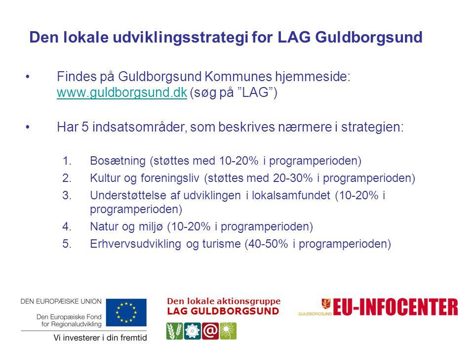 Den lokale udviklingsstrategi for LAG Guldborgsund