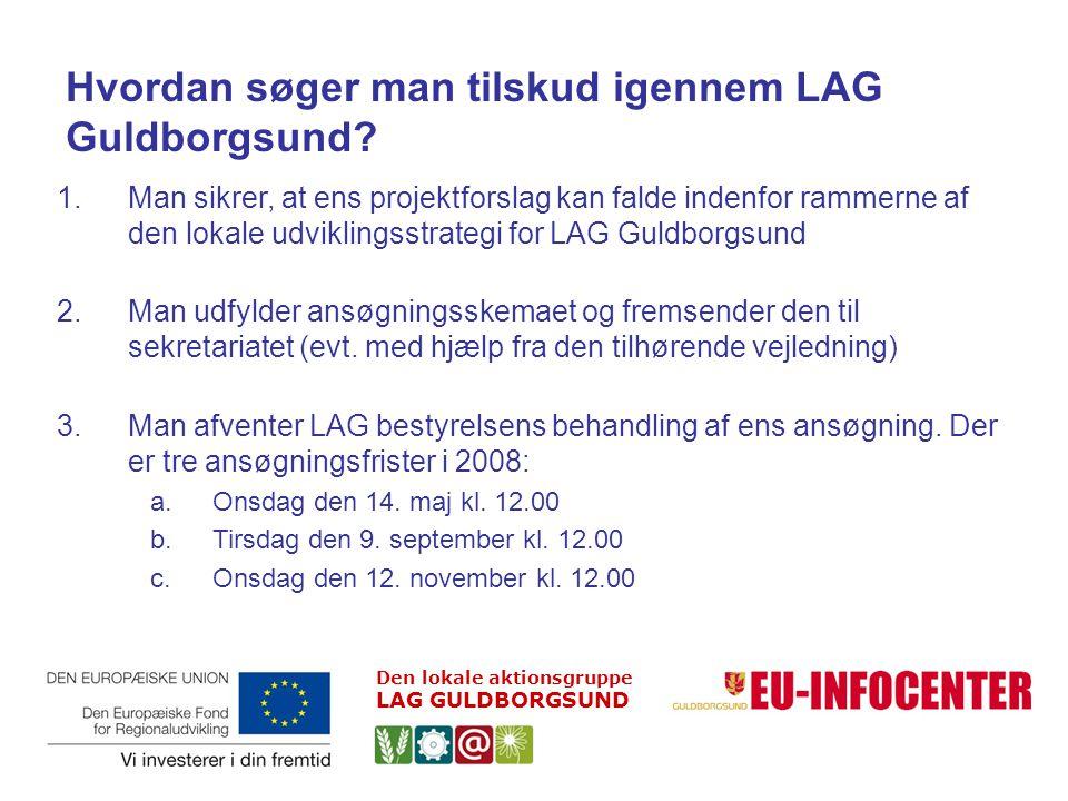Hvordan søger man tilskud igennem LAG Guldborgsund