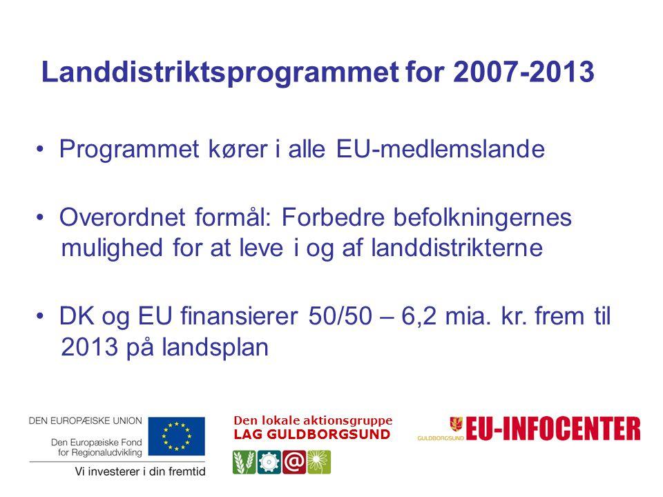 Landdistriktsprogrammet for 2007-2013