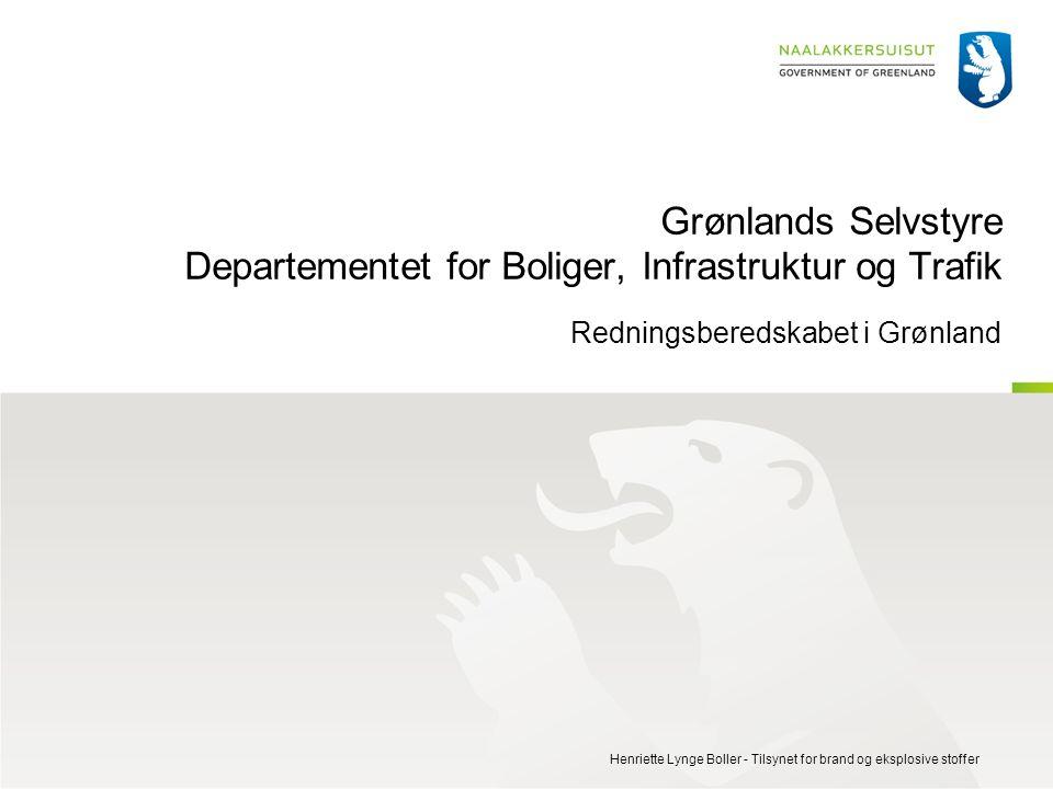 Grønlands Selvstyre Departementet for Boliger, Infrastruktur og Trafik