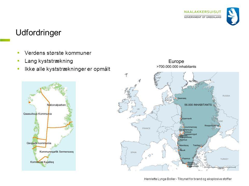 Udfordringer Verdens største kommuner Lang kyststrækning