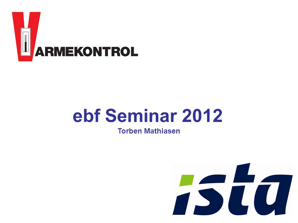 ebf Seminar 2012 Torben Mathiasen