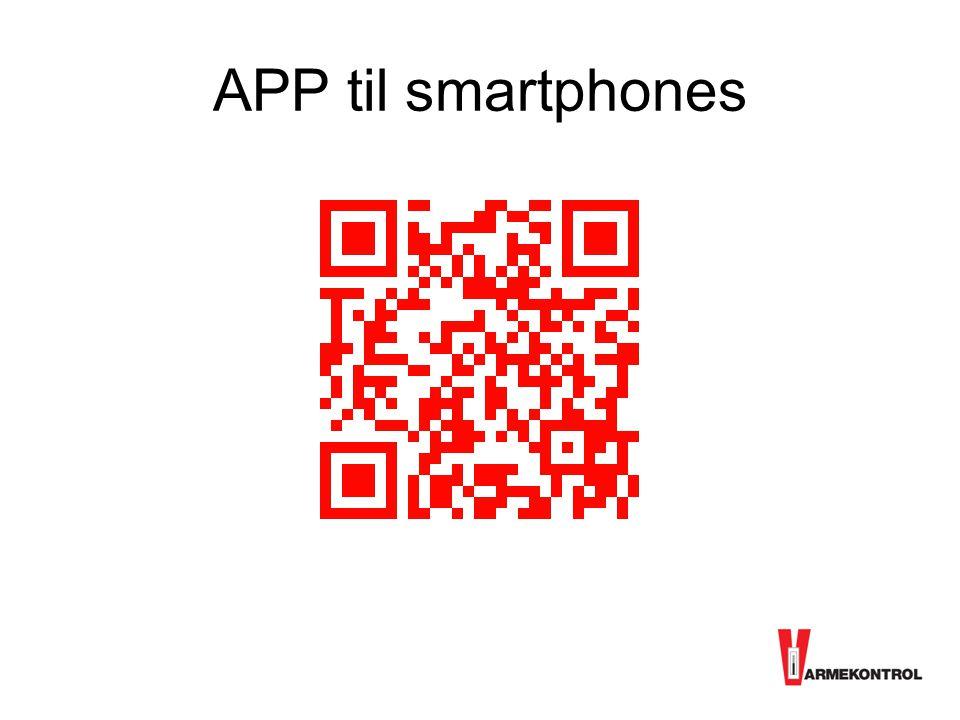 APP til smartphones