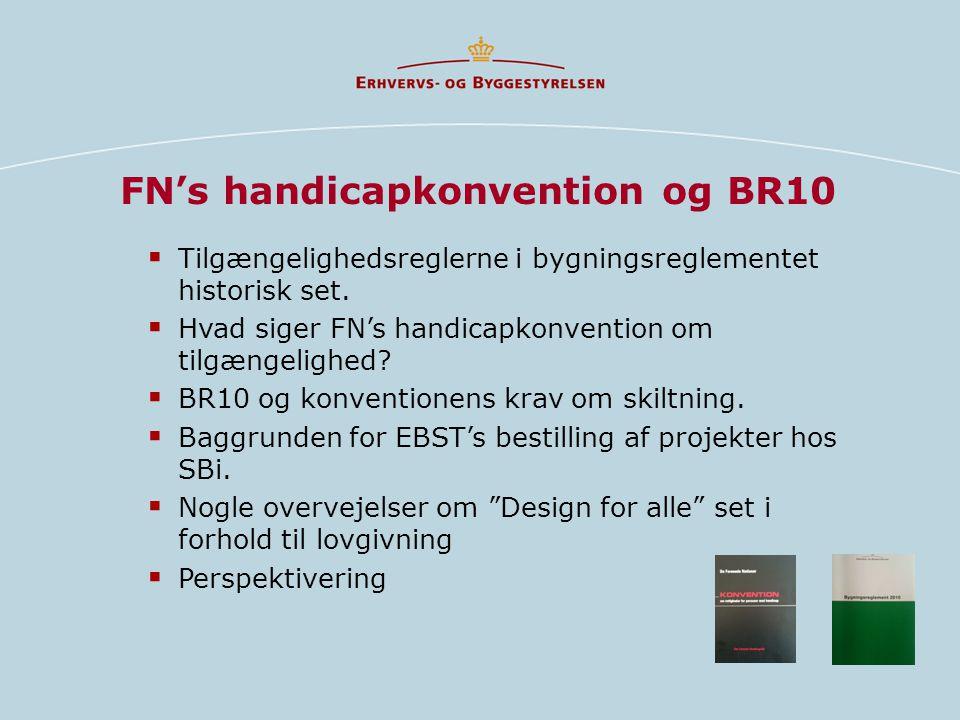 FN's handicapkonvention og BR10