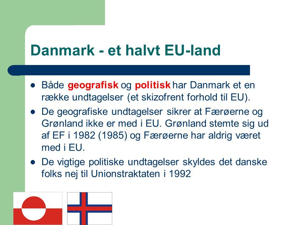 Danmark - et halvt EU-land