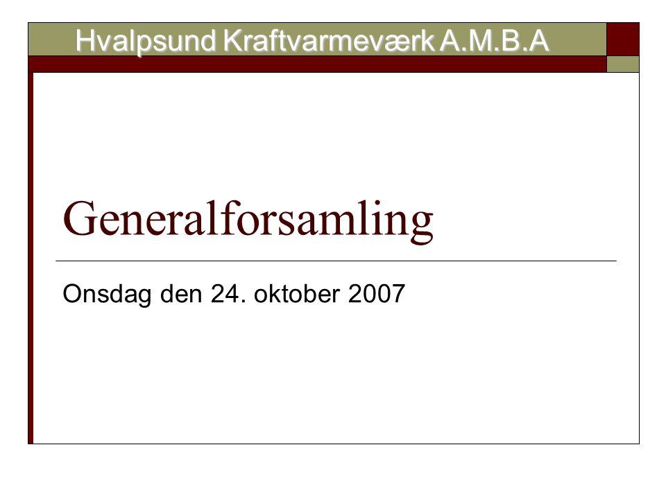 Hvalpsund Kraftvarmeværk A.M.B.A