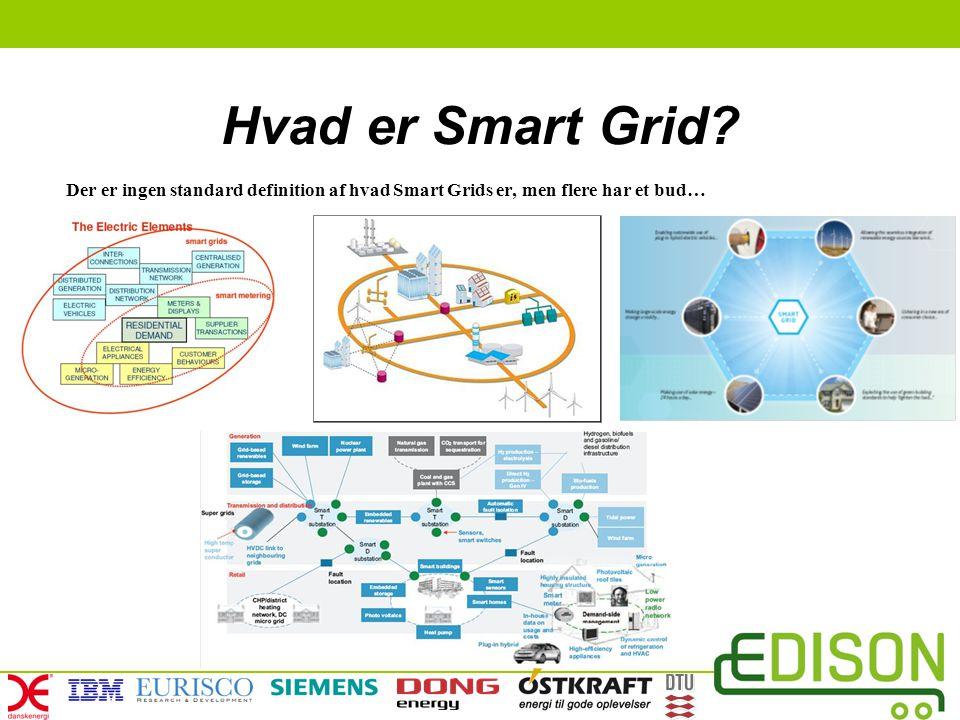 Hvad er Smart Grid Der er ingen standard definition af hvad Smart Grids er, men flere har et bud…