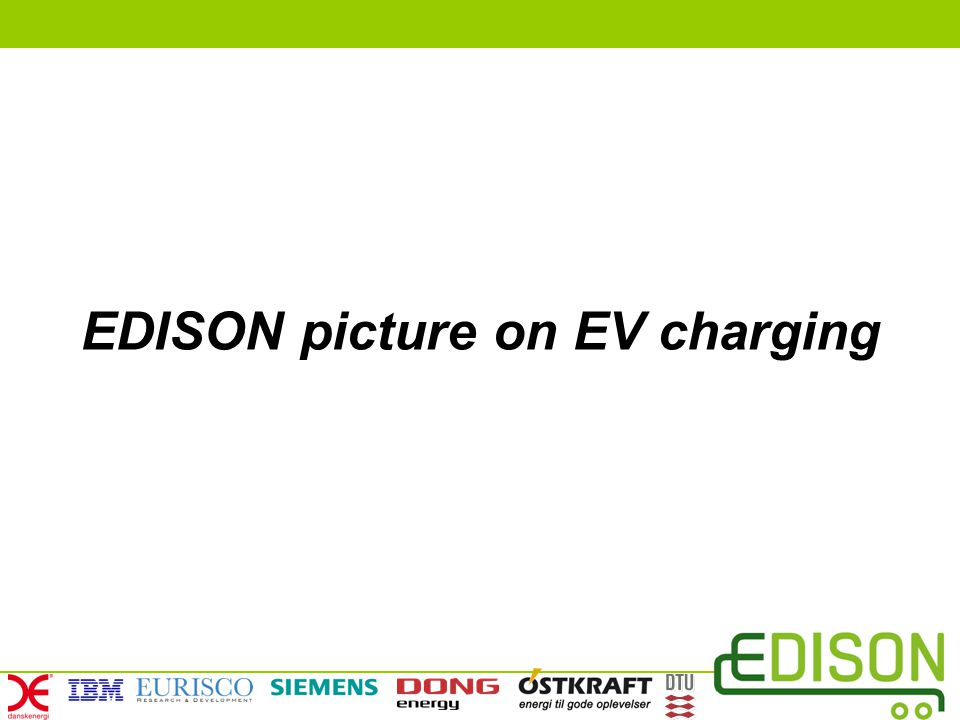 EDISON picture on EV charging