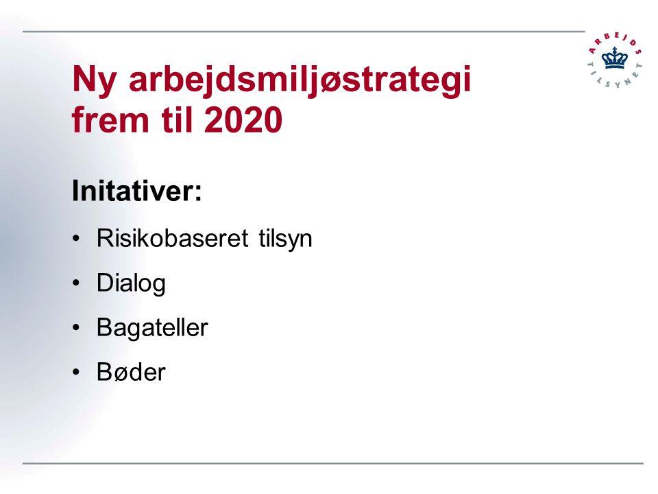 Ny arbejdsmiljøstrategi frem til 2020