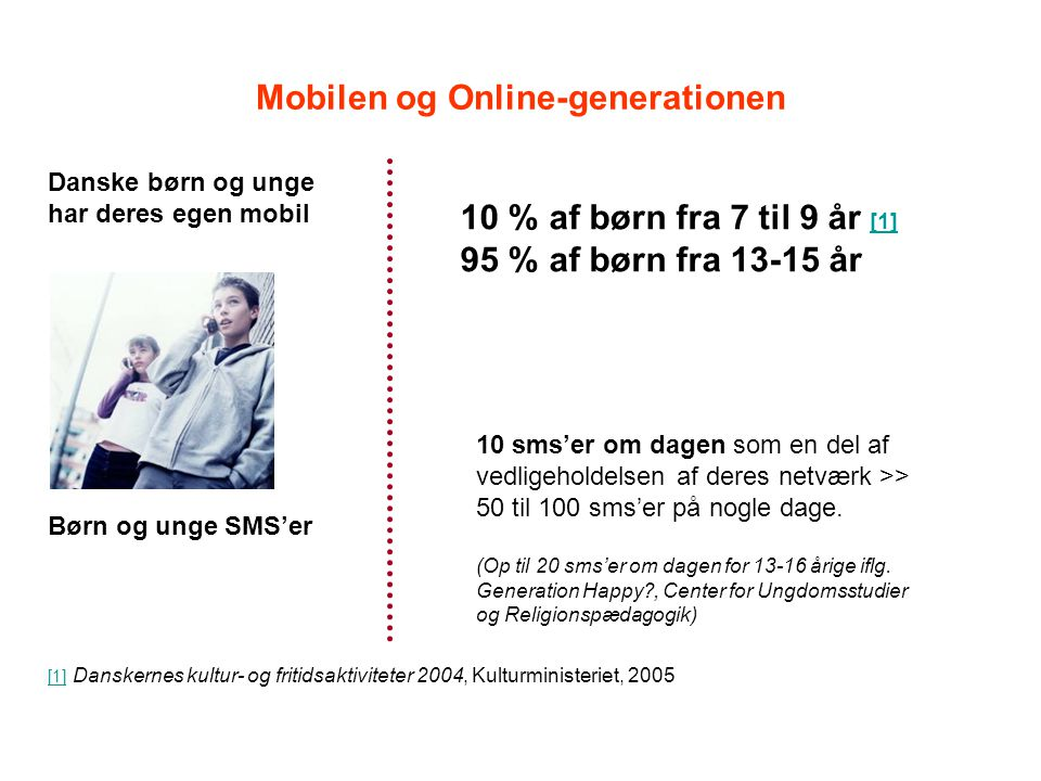 Mobilen og Online-generationen