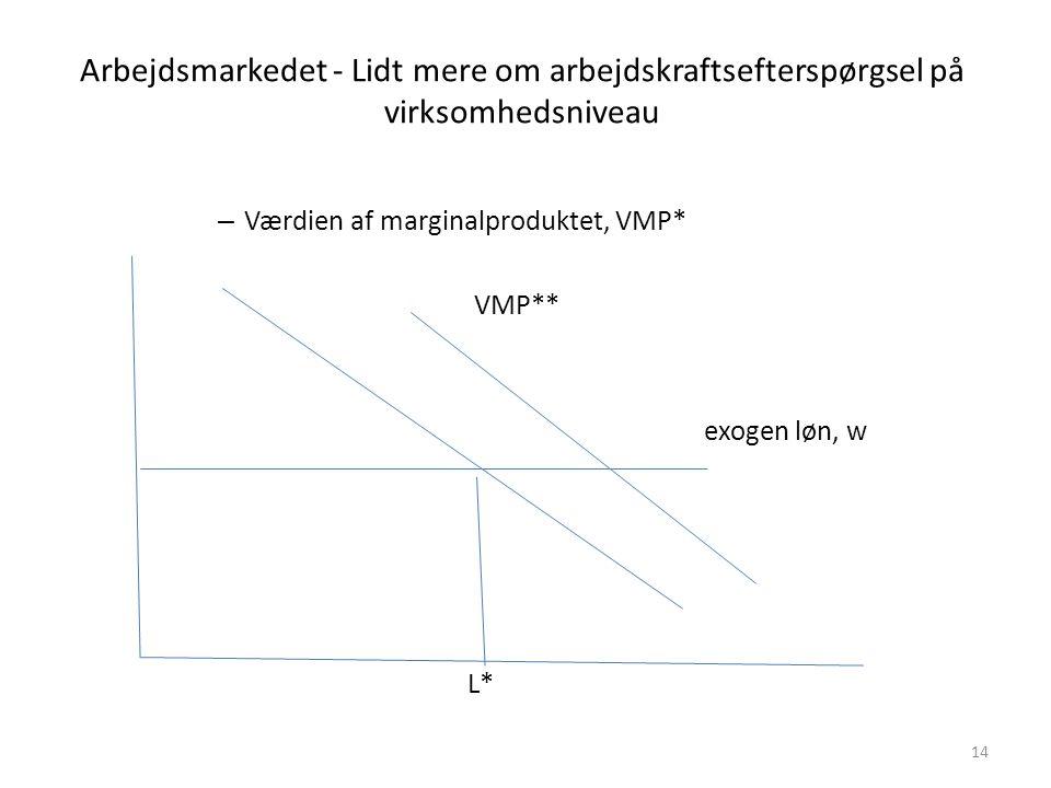 Arbejdsmarkedet - Lidt mere om arbejdskraftsefterspørgsel på virksomhedsniveau
