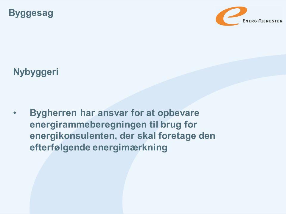 Byggesag Nybyggeri.