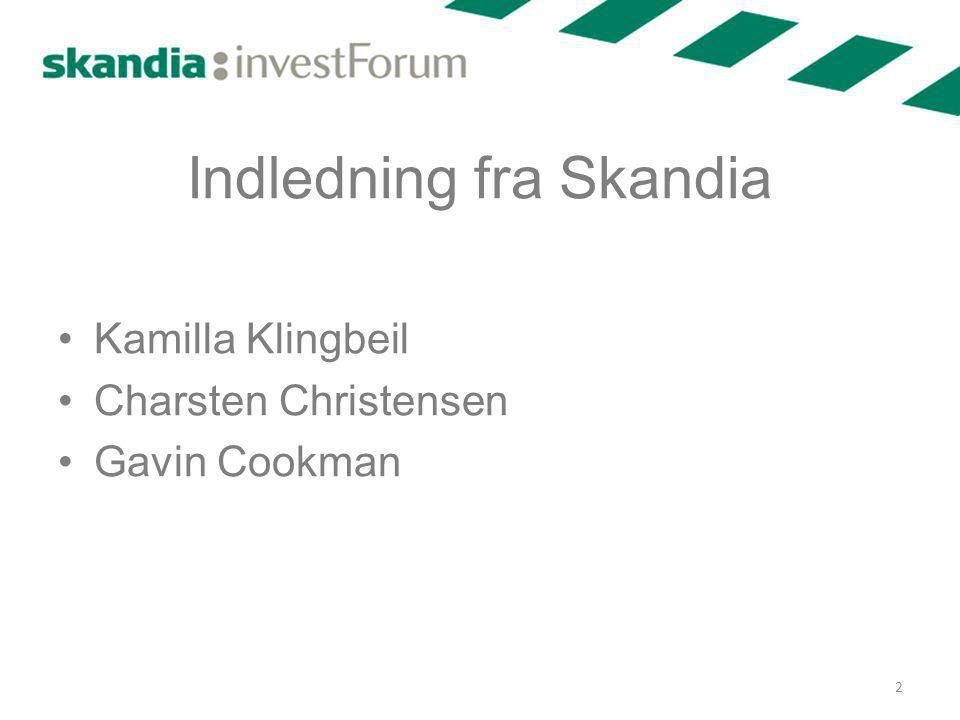 Indledning fra Skandia
