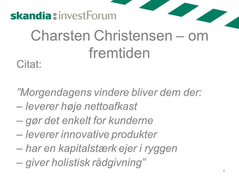 Charsten Christensen – om fremtiden