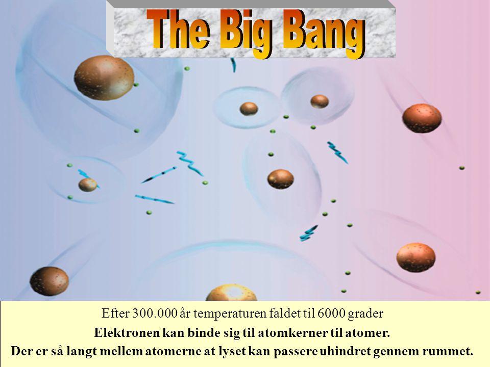 Elektronen kan binde sig til atomkerner til atomer.