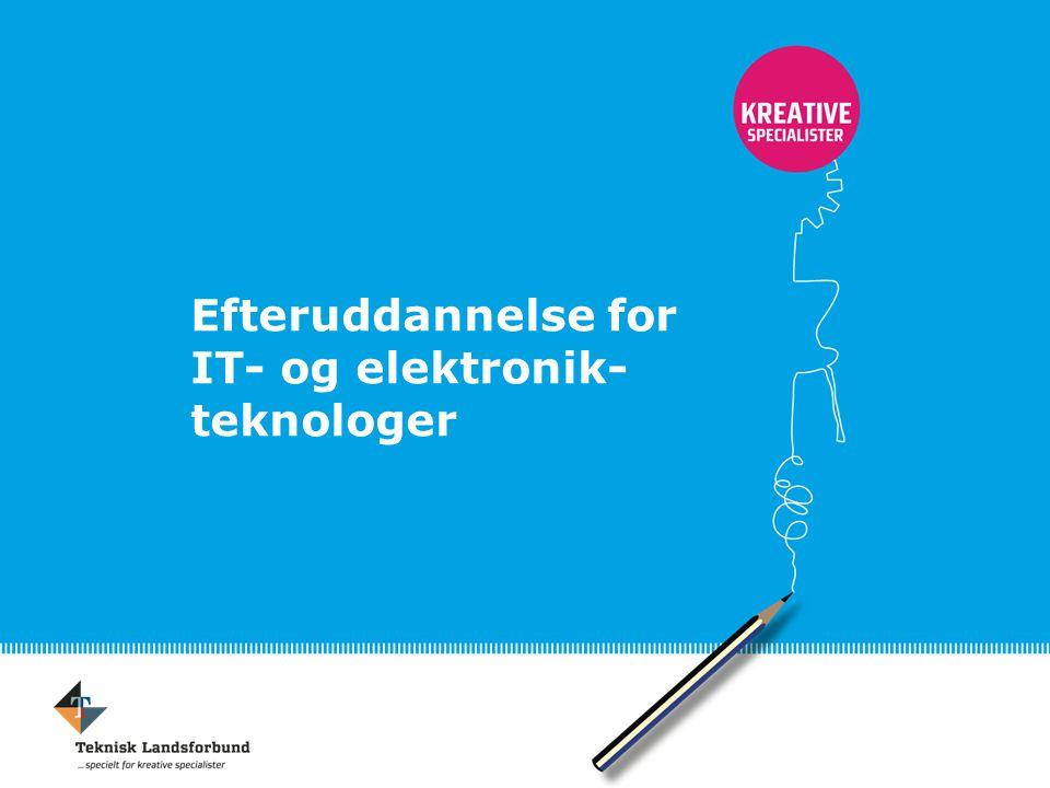 Efteruddannelse for IT- og elektronik-teknologer