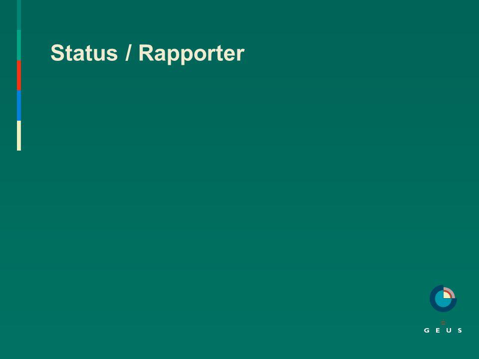 Status / Rapporter Københavns amt, Viborg amt og Roskilde amt