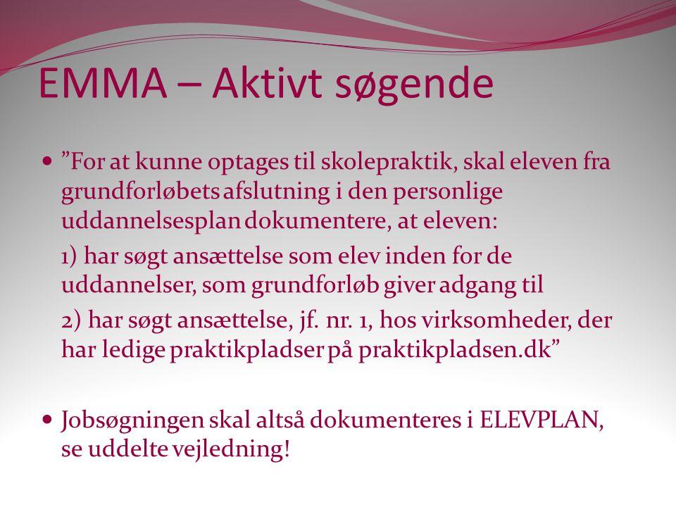 EMMA – Aktivt søgende