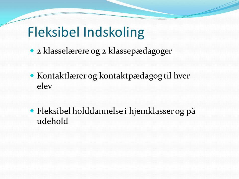 Fleksibel Indskoling 2 klasselærere og 2 klassepædagoger