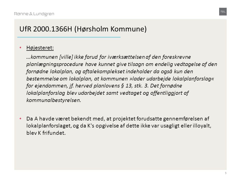 UfR 2000.1366H (Hørsholm Kommune)