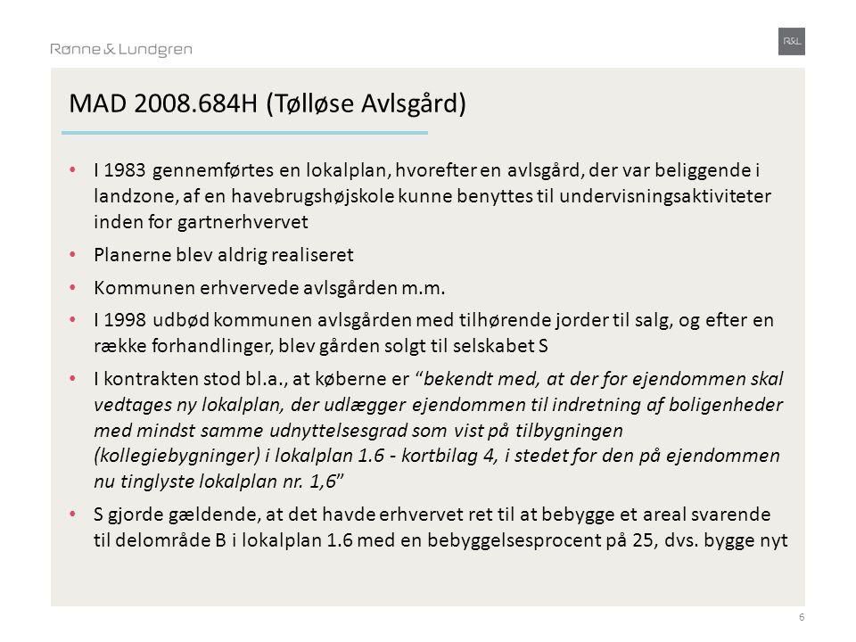 MAD 2008.684H (Tølløse Avlsgård)