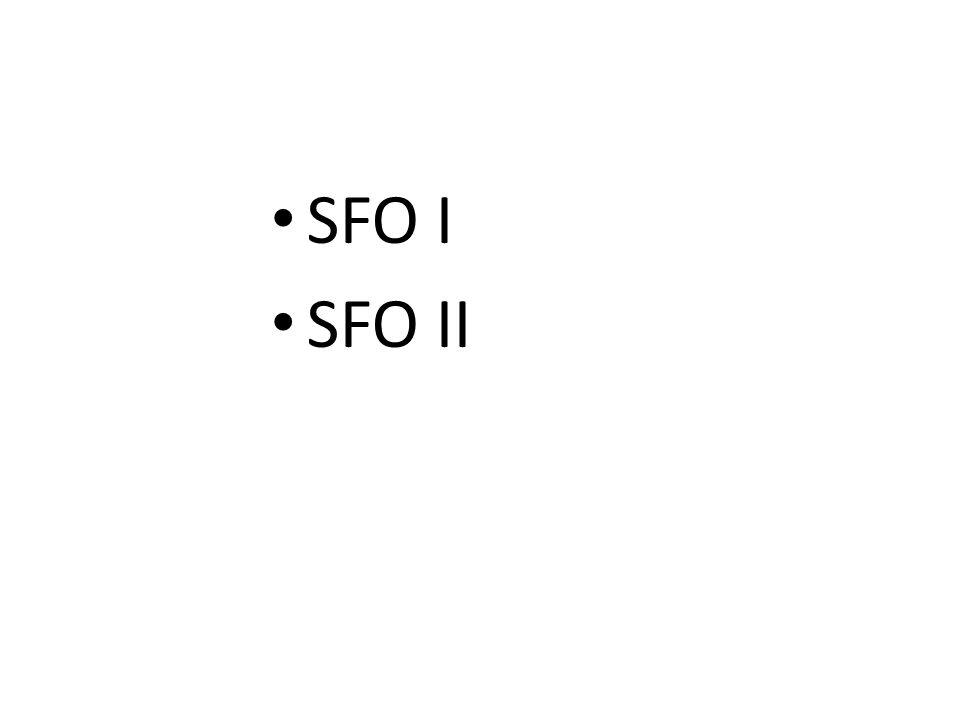 SFO I SFO II