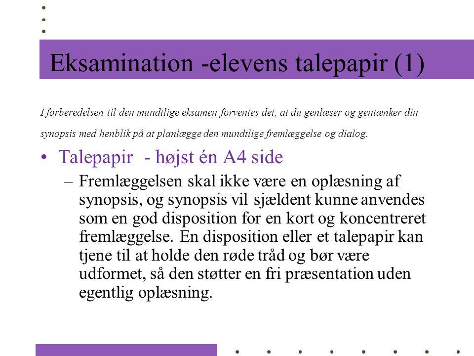 Eksamination -elevens talepapir (1)