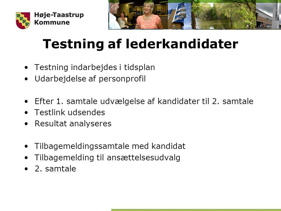 Testning af lederkandidater