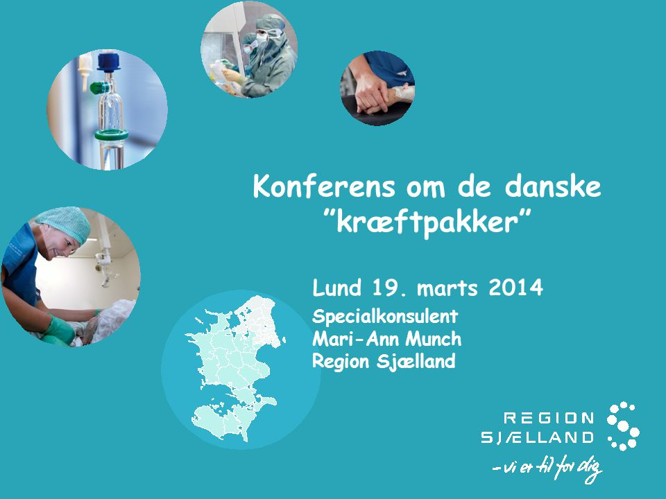 Konferens om de danske kræftpakker