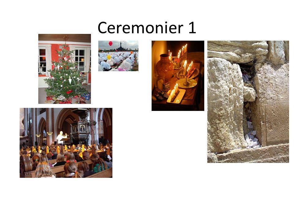 Ceremonier 1