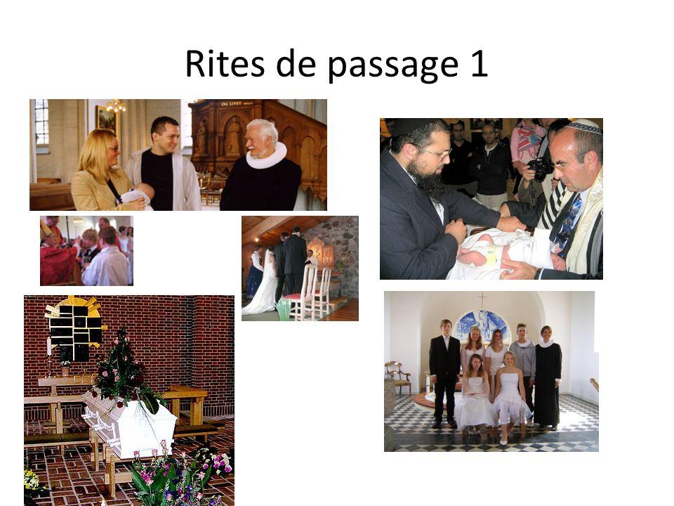 Rites de passage 1