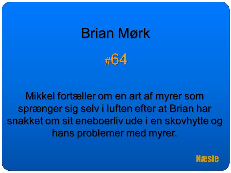 Brian Mørk #64.