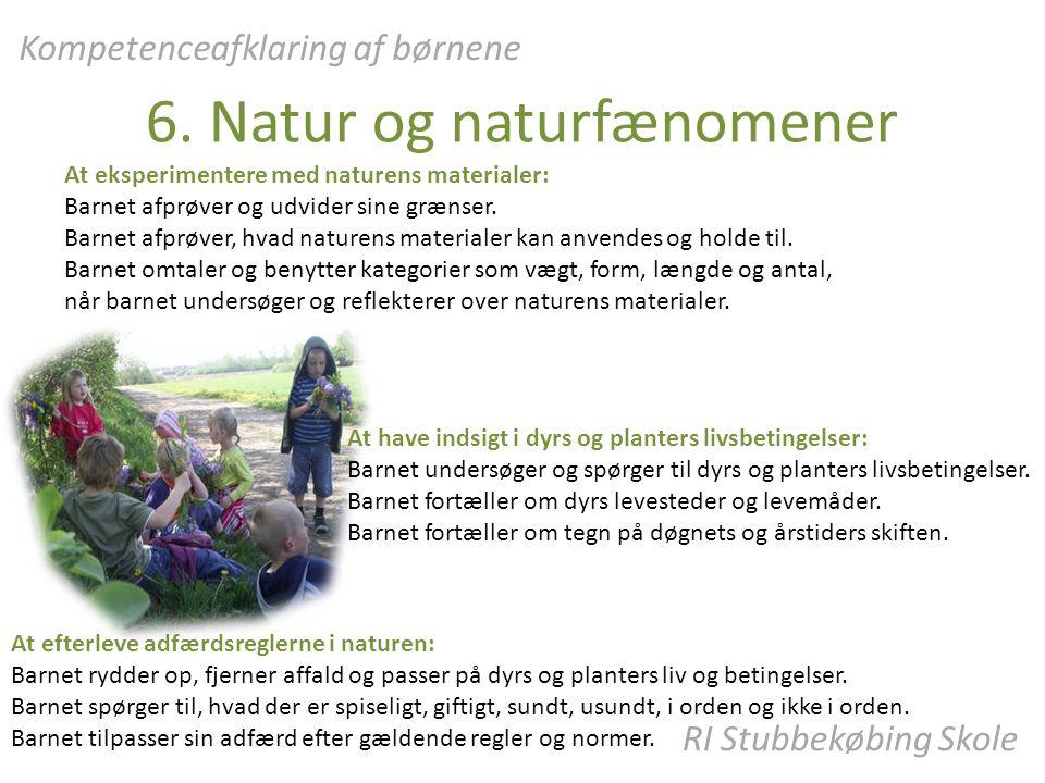 6. Natur og naturfænomener