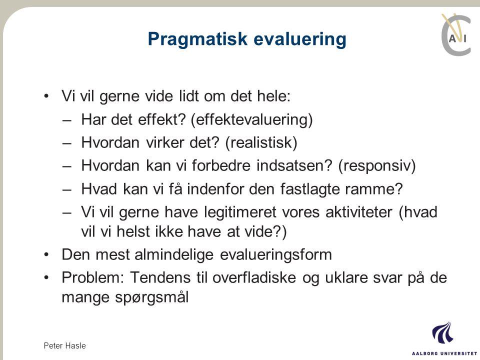 Pragmatisk evaluering
