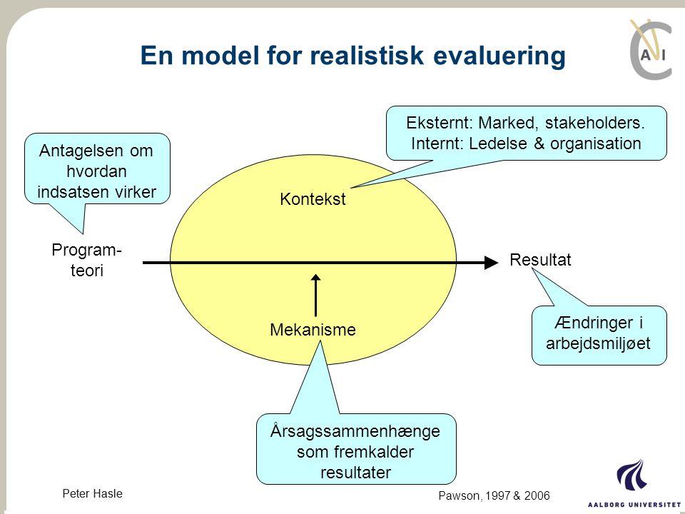 En model for realistisk evaluering