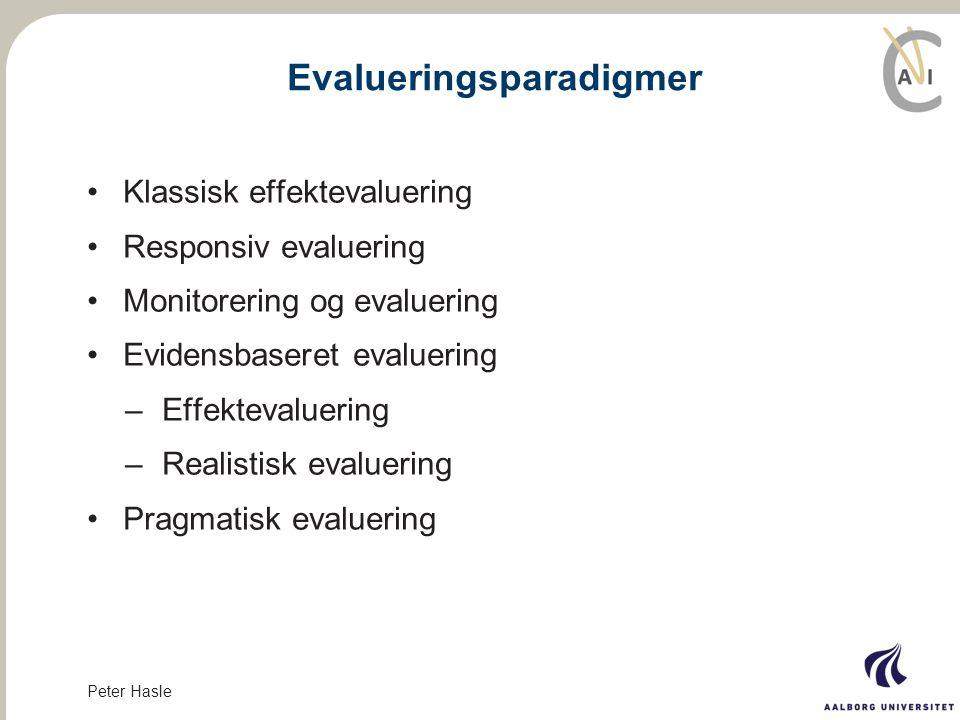 Evalueringsparadigmer
