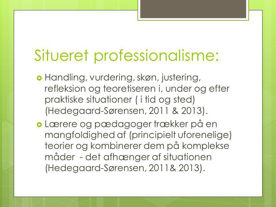 Situeret professionalisme:
