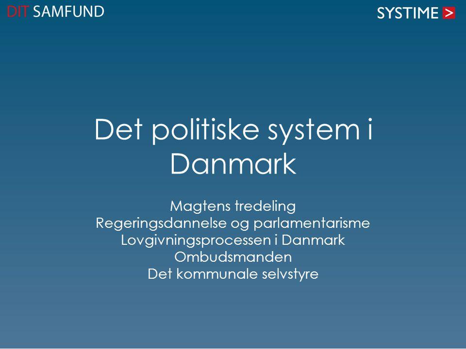 Det politiske system i Danmark