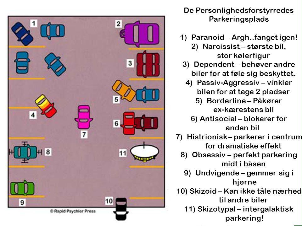 De Personlighedsforstyrredes Parkeringsplads