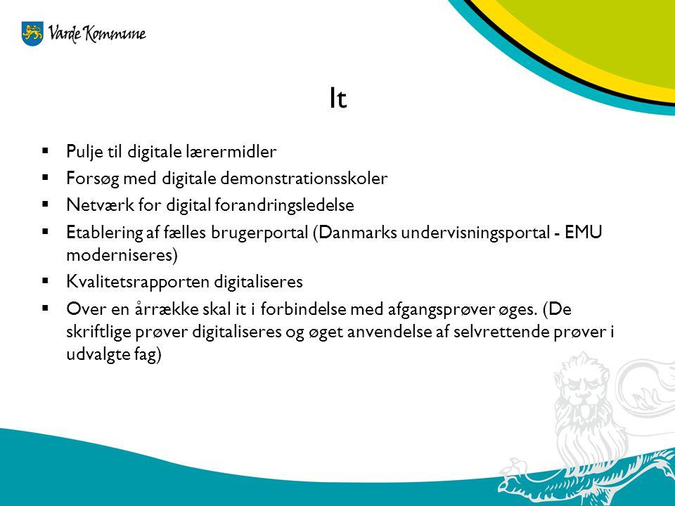 It Pulje til digitale lærermidler