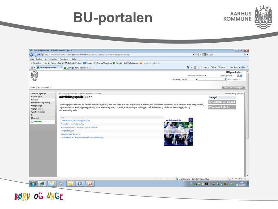 BU-portalen