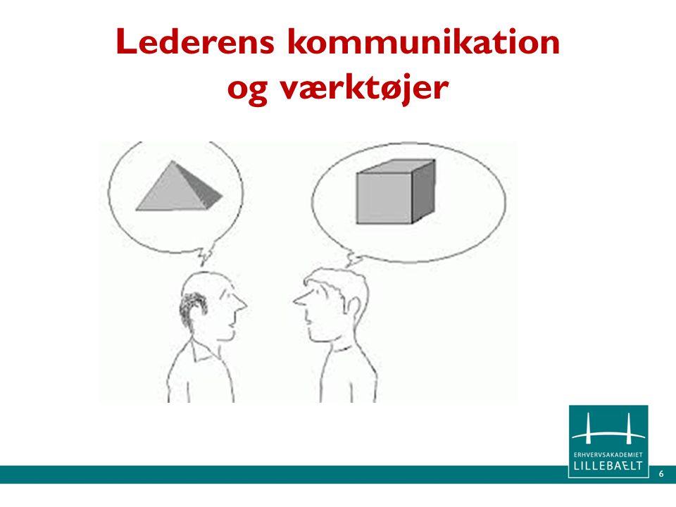 Lederens kommunikation og værktøjer
