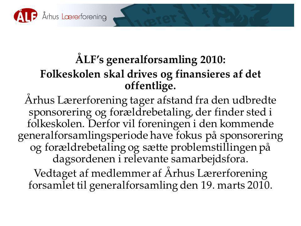 ÅLF's generalforsamling 2010: