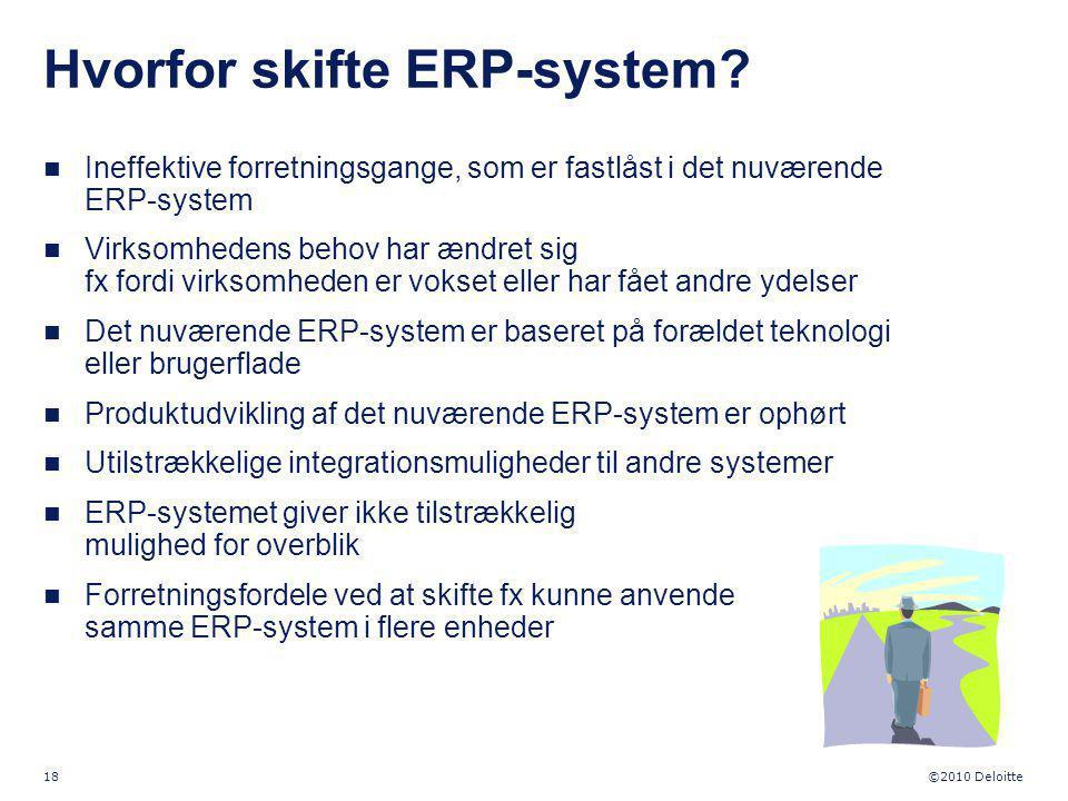 Hvorfor skifte ERP-system