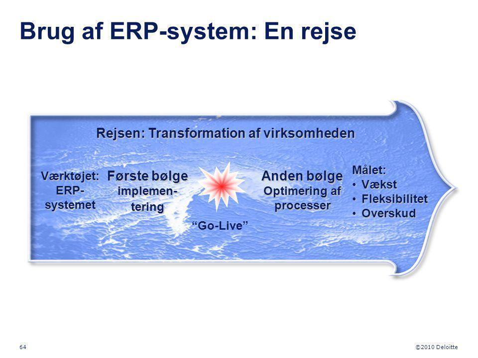 Brug af ERP-system: En rejse