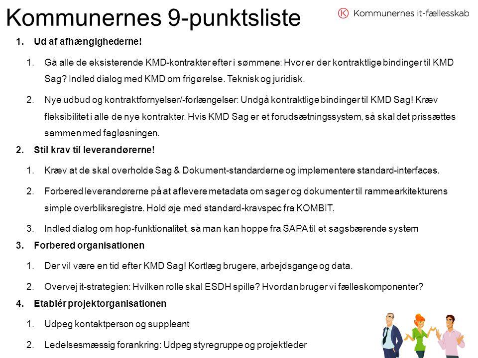 Kommunernes 9-punktsliste
