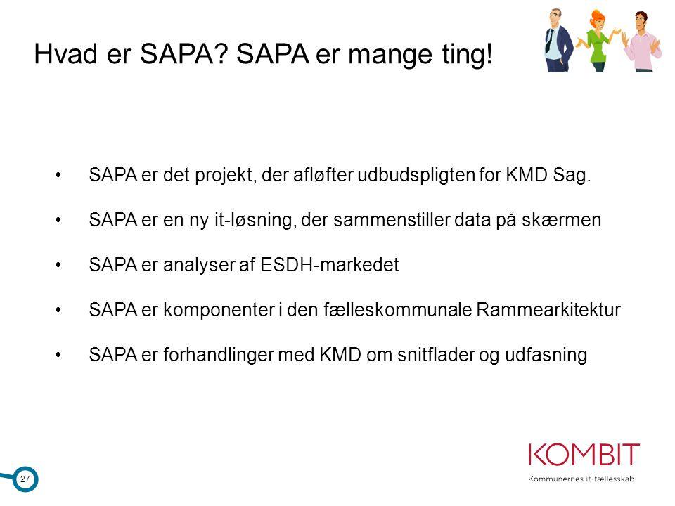 Hvad er SAPA SAPA er mange ting!