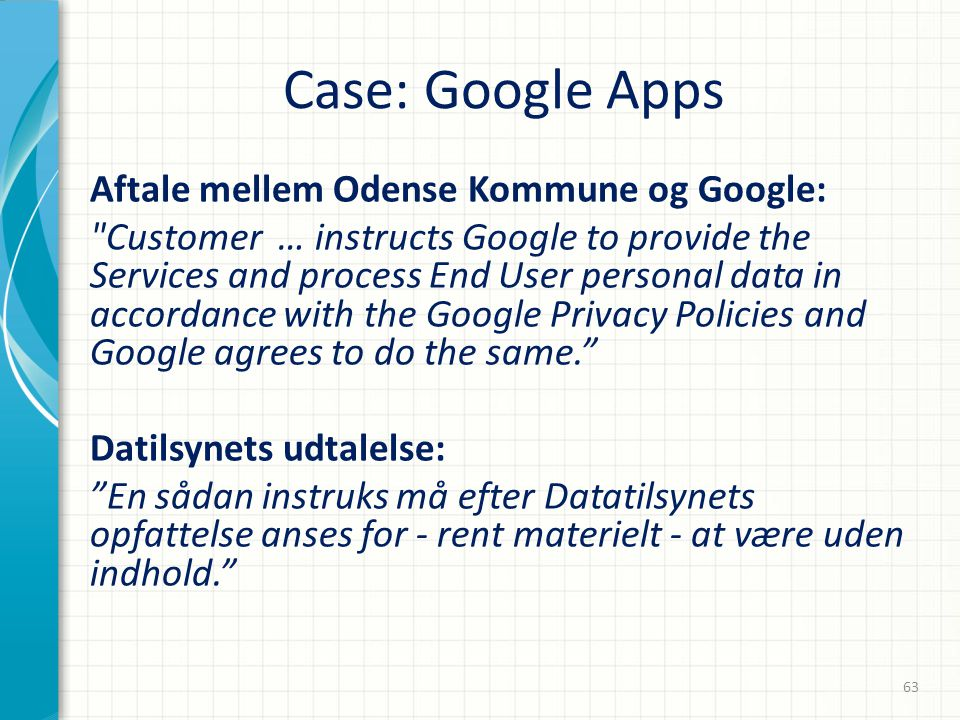 Case: Google Apps