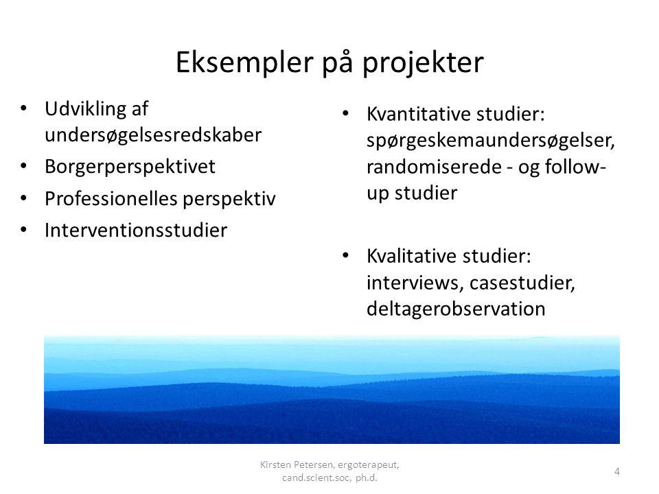 Eksempler på projekter